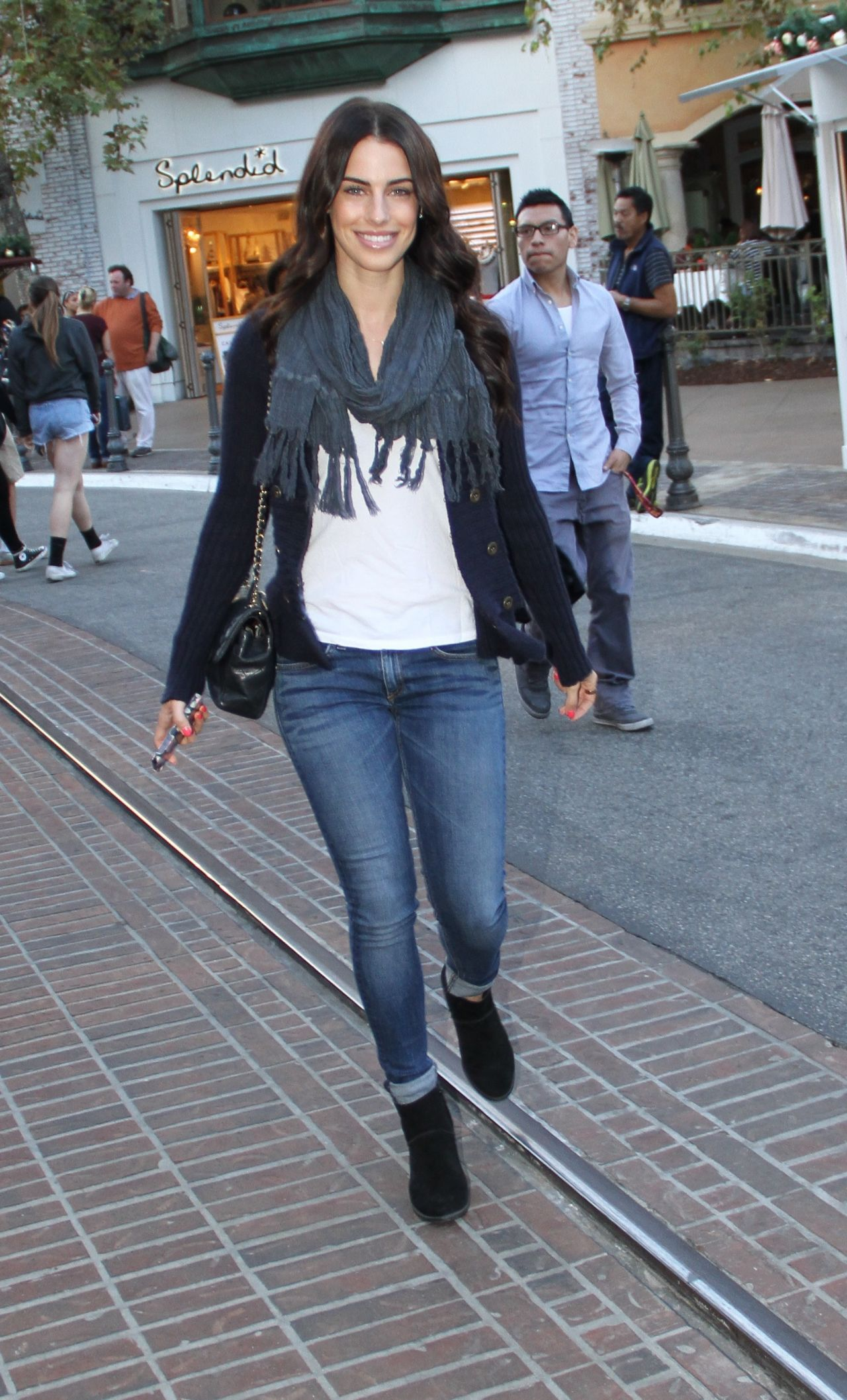 Jessica Lowndes in Jeans - Out in Los Angeles - November 2013