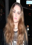 Joanna JoJo Levesque Street Style - Outside Bootsy Bellows in Hollywood - December 2013