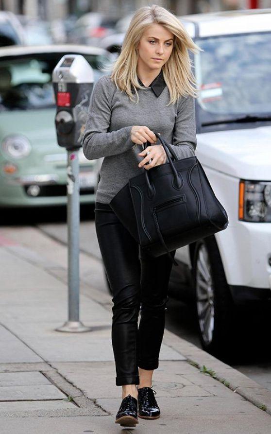 Julianne Hough Street STyle Los Angeles, December 2013