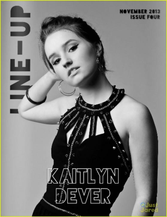 Kaitlyn Dever - LINE-UP Magazine - November 2013 Issue