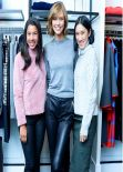 Karlie Kloss - COACH & LUCKY Magazine Q&A in New York City