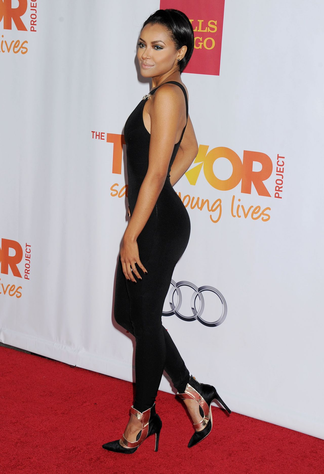Kat Graham on Red Carpet – Trevor Project's 2013 TrevorLIVE LA Event – Hollywood