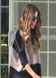 Kate Beckinsale Street Style - Visits Jewlery Store in West Hollywood - December 2013