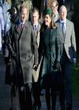 Kate Middleton - Christmas Day Service at Sandringham - December 25, 2013