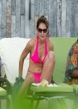 Katie Holmes - Bikini Photos, Miami December 2013