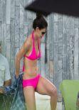 Katie Holmes - Bikini Photos, Miami December 2013