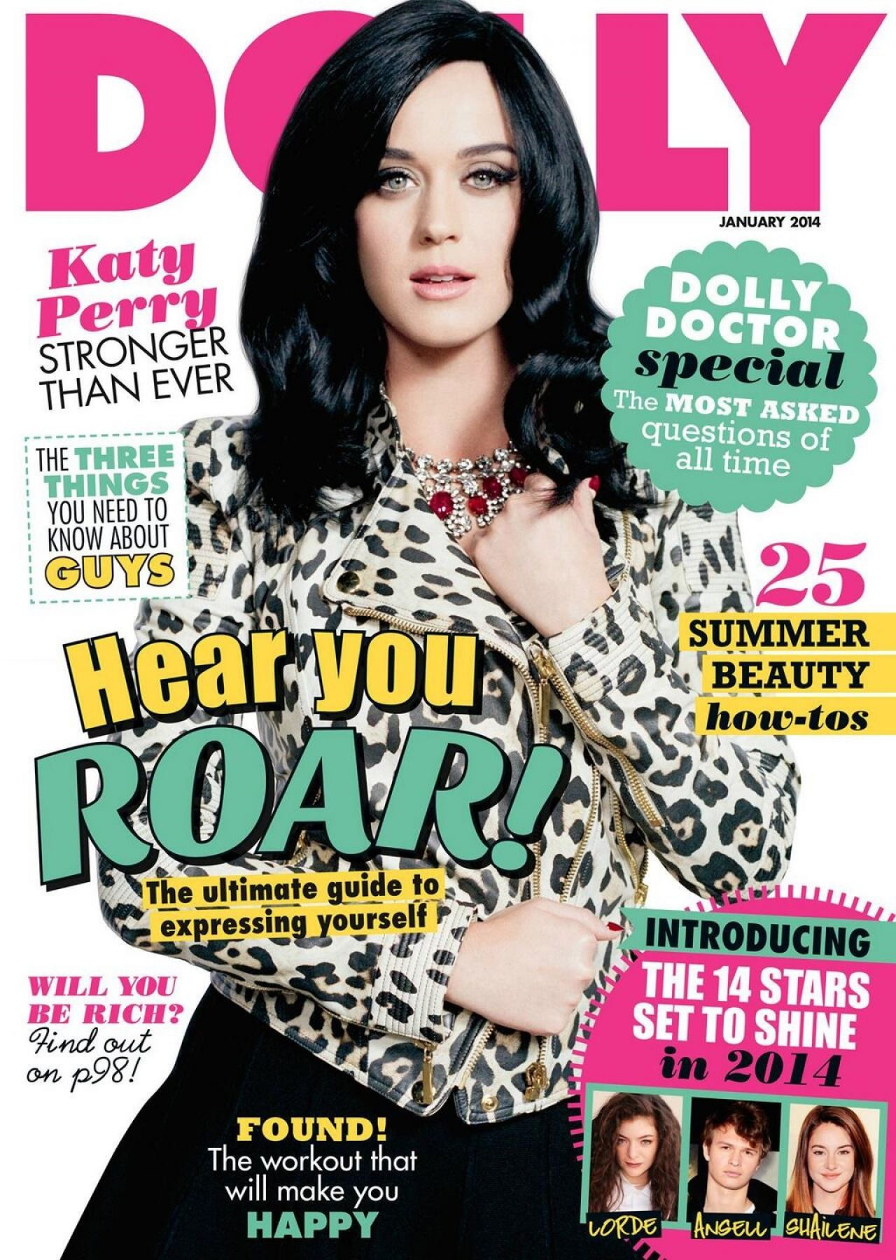 Katy Perry - DOLLY Magazine (Australia) - January 2014 Issue