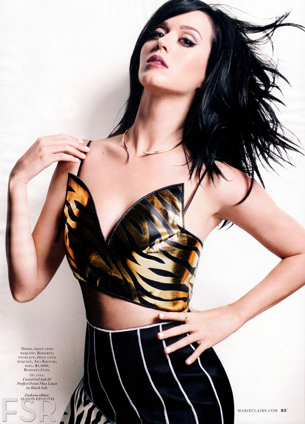 Katy Perry – MARIE CLAIRE Magazine - January 2014 Issue