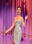 Katy Perry Shows Legs On The Alan Carr Chatty Man Show - December 2013