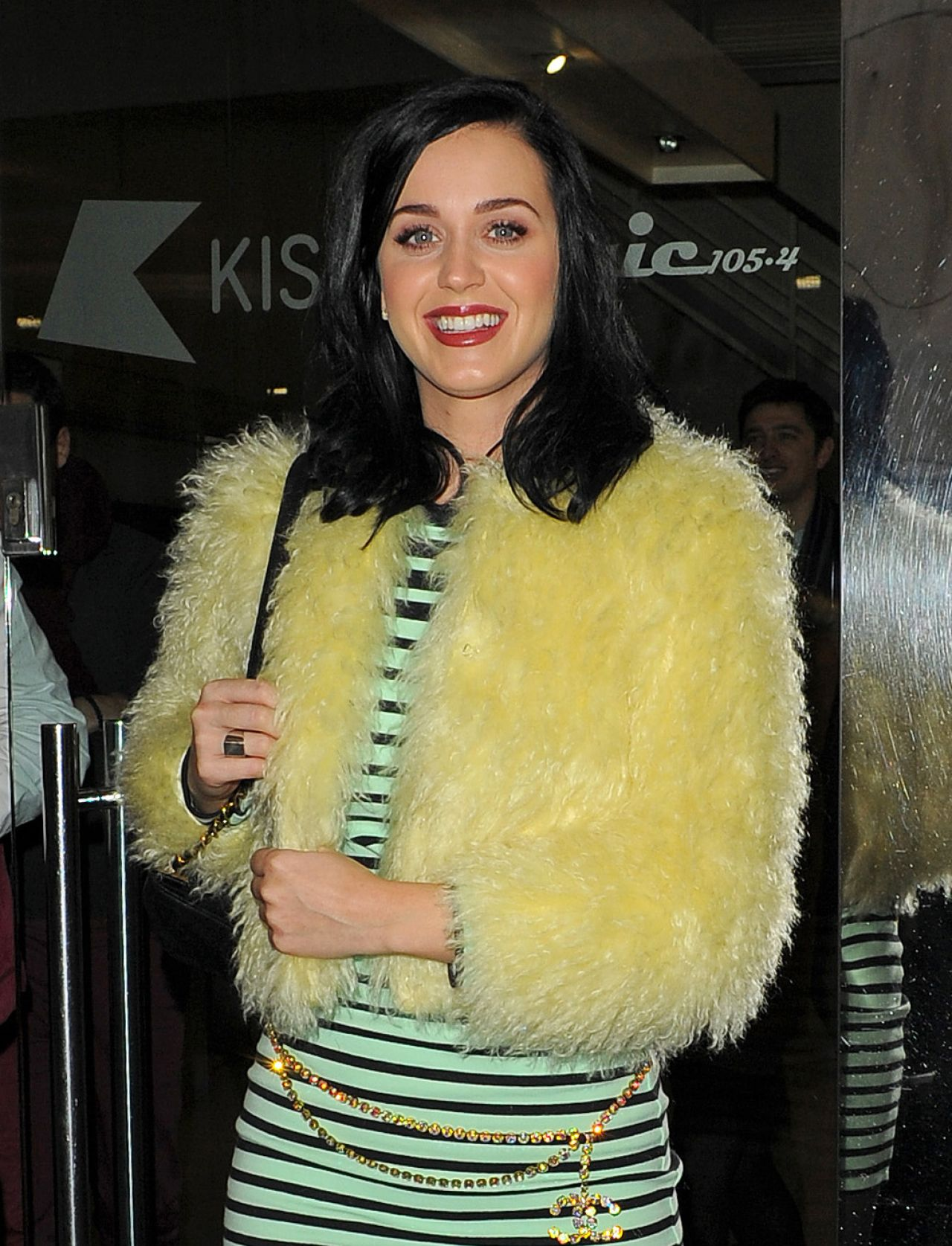 Katy Perry Street Style - Leaving Kiss FM Radio Station in London - December 2013