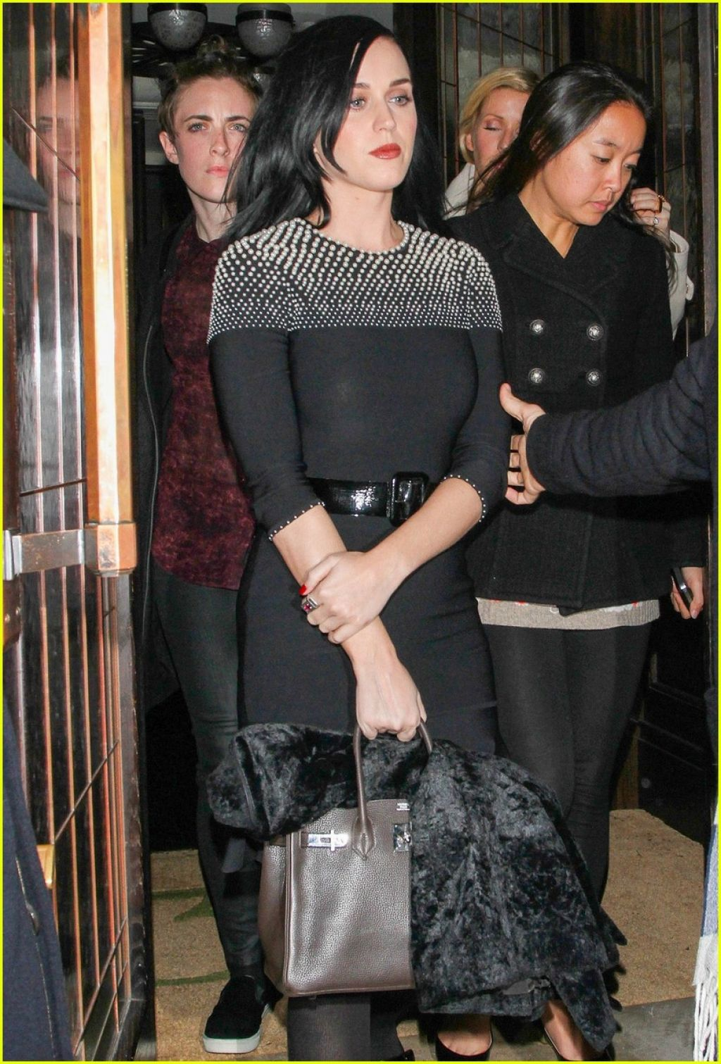 Katy Perry Style - Leaving Restaurant 34 in London - December 2013