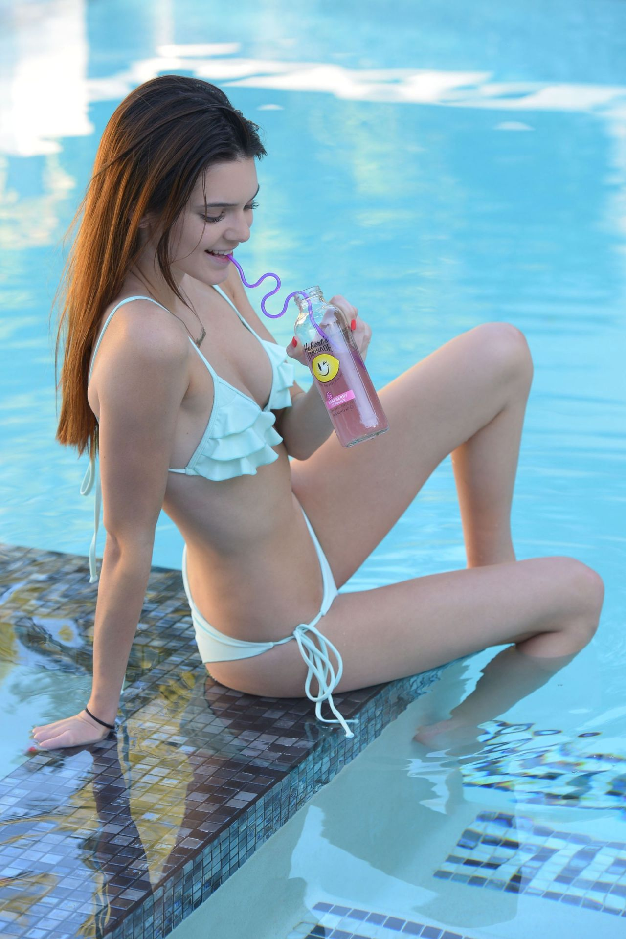 Kendall Jenner In A Bikini - Los Angeles - July 2013 Hi -4961