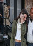 Kendall Jenner Street Style - New York City - December 2013