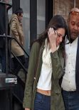 Kendall Jenner  Street Style - New York City - December 2013
