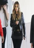 Kim Kardashian & Kendall Jenner - Childrens Hospital in Xmas Visit Los Angeles - December 2013