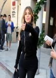 Kim Kardashian Street Style - Out for Lunch and Shopping in Beverly Hills