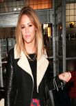 Kimberley Walsh Street Style - Bayswater, December 2013