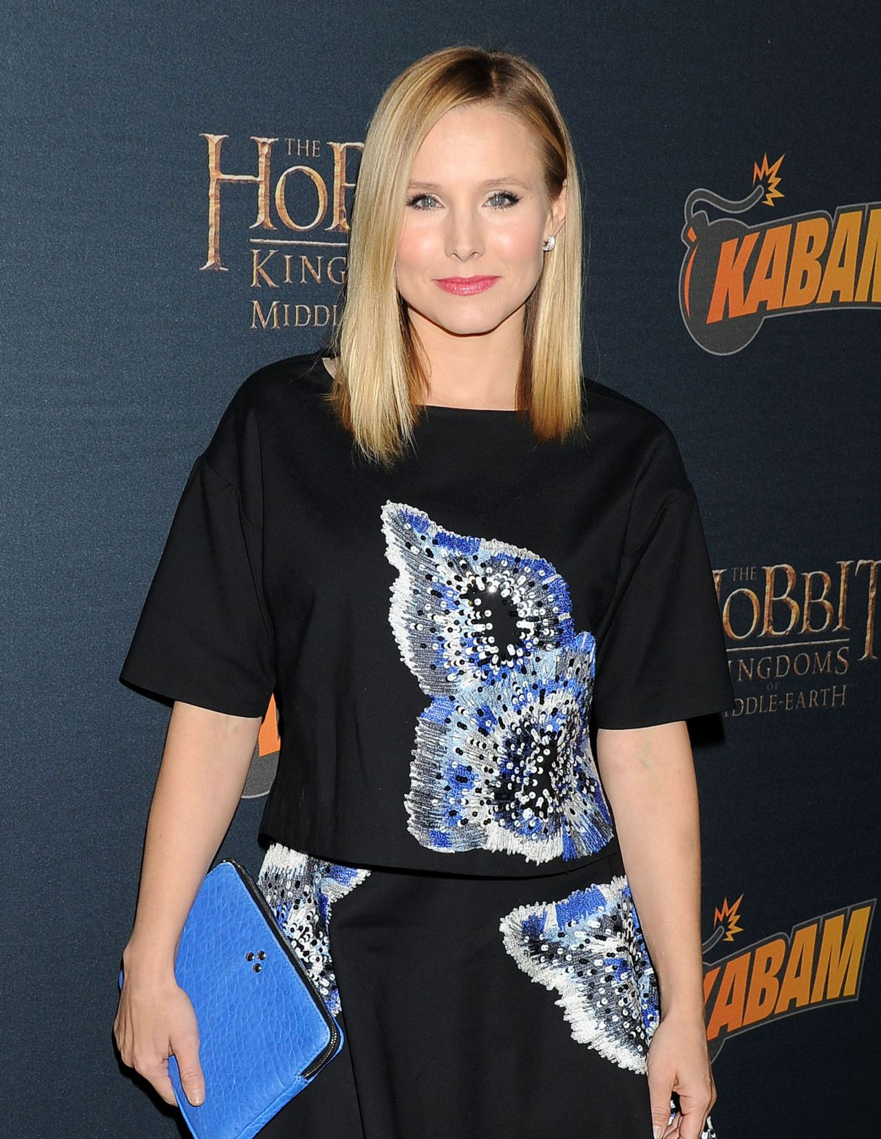 Kristen Bell at THE HOBBIT: THE DESOLATION OF SMAUG Expansion Kabam Mobile Game Party - Dec. 2013