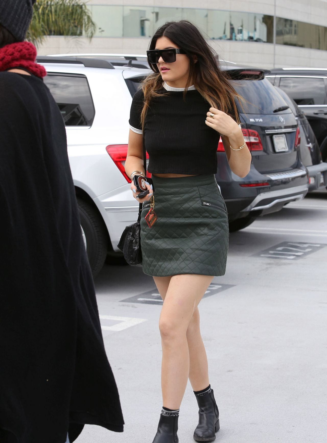 Kylie Jenner Street Style Shopping In West Hollywood