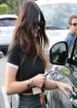 Kylie Jenner Street Style - Shopping in West Hollywood - December 2013