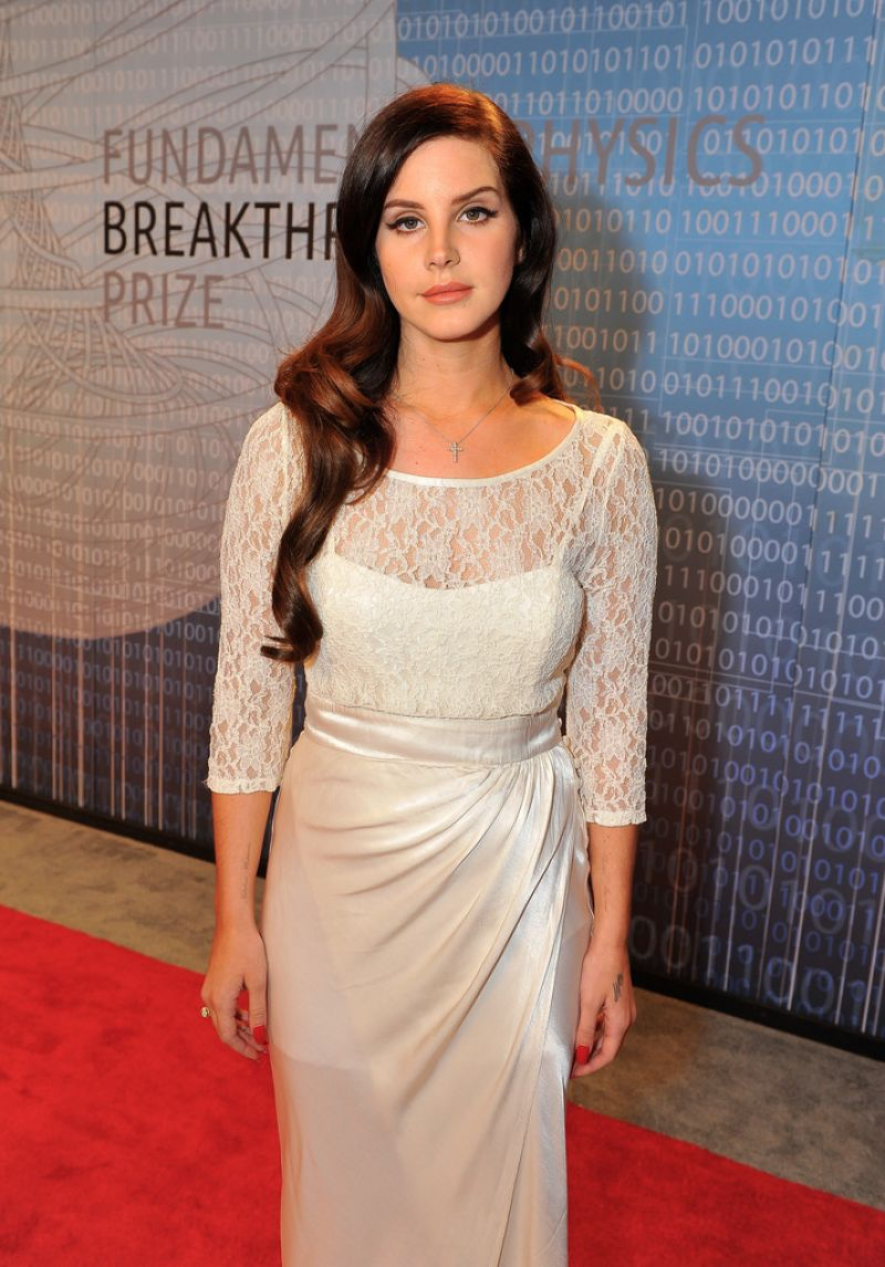Lana Del Rey - The Breakthrough Prize Award Ceremony - December 2013