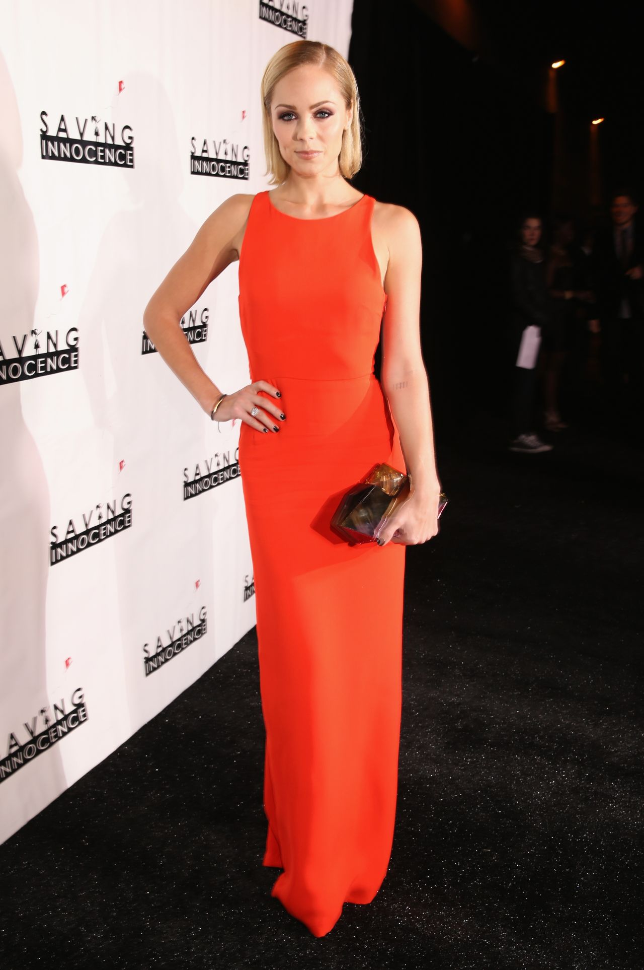 Laura Vandervoort at 2nd Annual Saving Innocence Gala in Los Angeles, December 2013