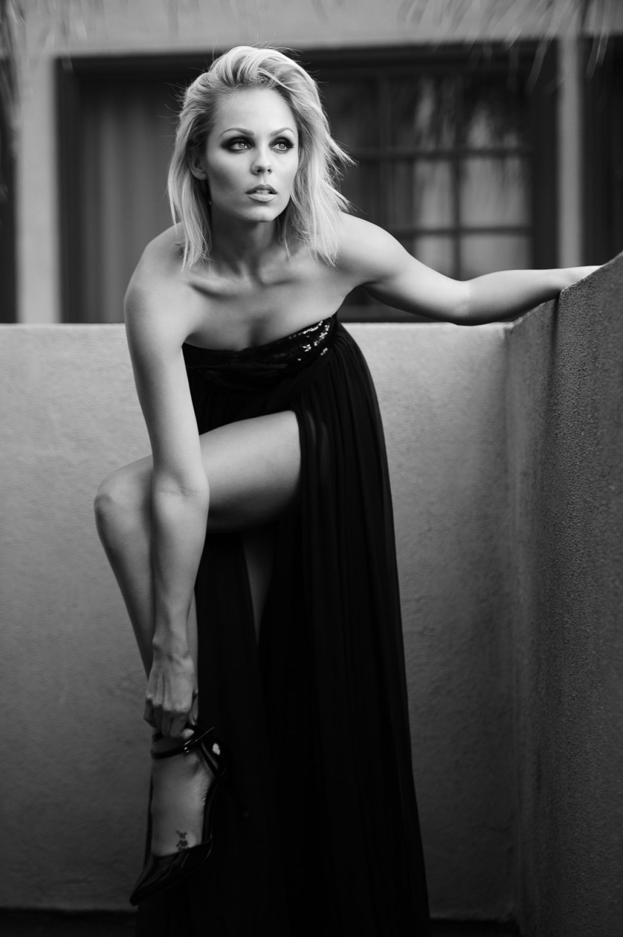 Laura Vandervoort Photoshoot by Marc Cartwright