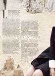 Lily James - TATLER Magazine (UK) - January 2014 Issue