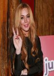 "Lindsay Lohan - ""Just Sing It"" App Launch in New York City - December 2013"