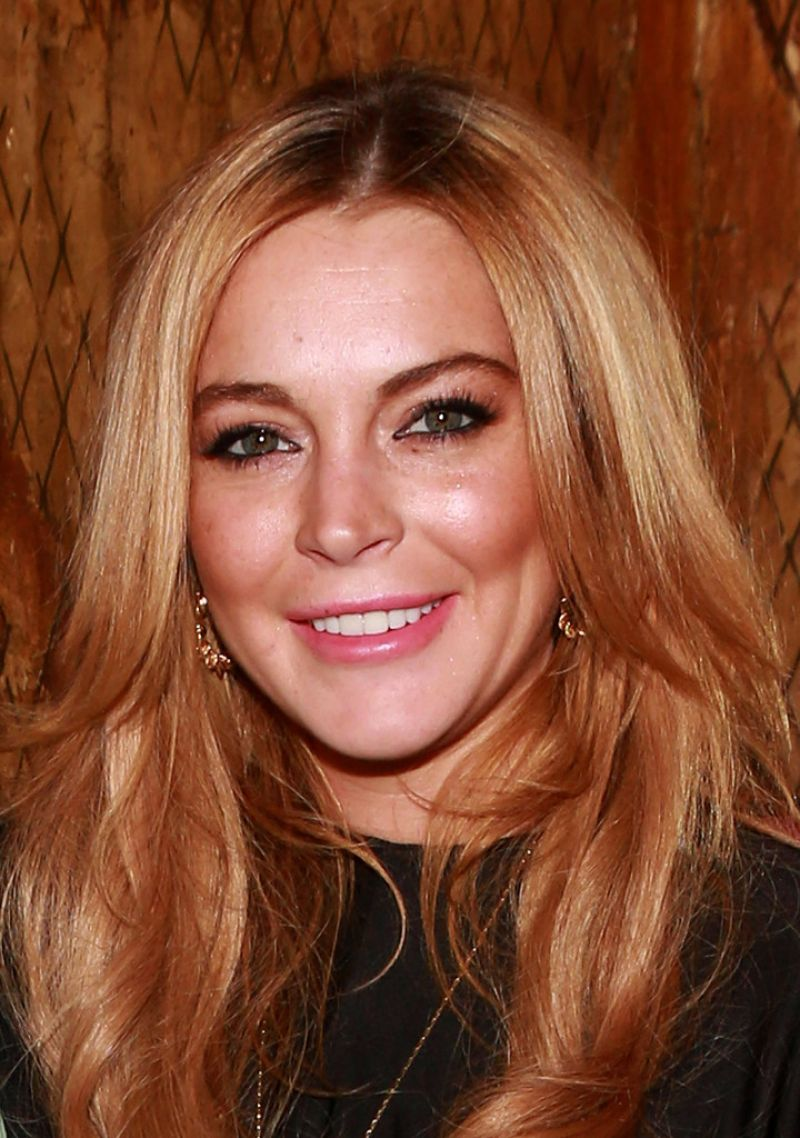 """Lindsay Lohan - """"Just Sing It"""" App Launch in New York City ..."""