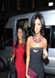 Lucy Mecklenburgh at Official Xmas Party , Sub Zero Club - December 2013