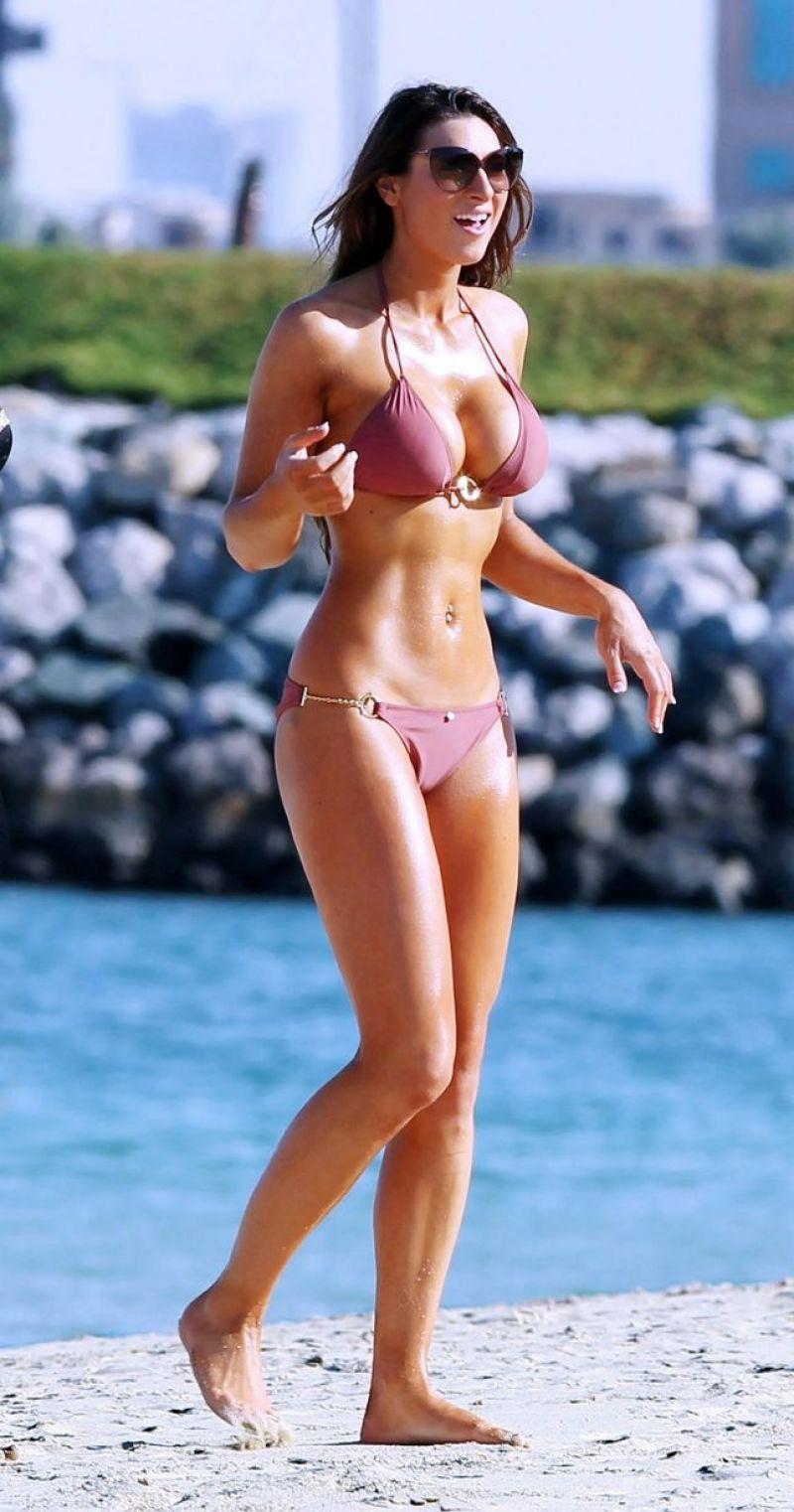 Luisa Zissman In A Bikini Dubai December 2013