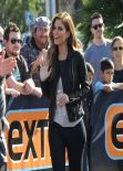 Maria Menounos on the Extra Set in Los Angeles - December 2013