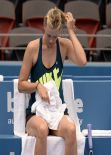 Maria Sharapova - Practice Session 2014 Brisbane International