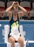 Maria Sharapova - Practice Session 2014 Brisbane International
