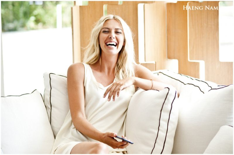 Maria Sharapova - Samsung Photoshoot by Haeng Nam - Year 2013