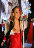 Mariah Carey Performs at 81st Annual Rockefeller Center Christmas Tree Lighting - Dec. 2013