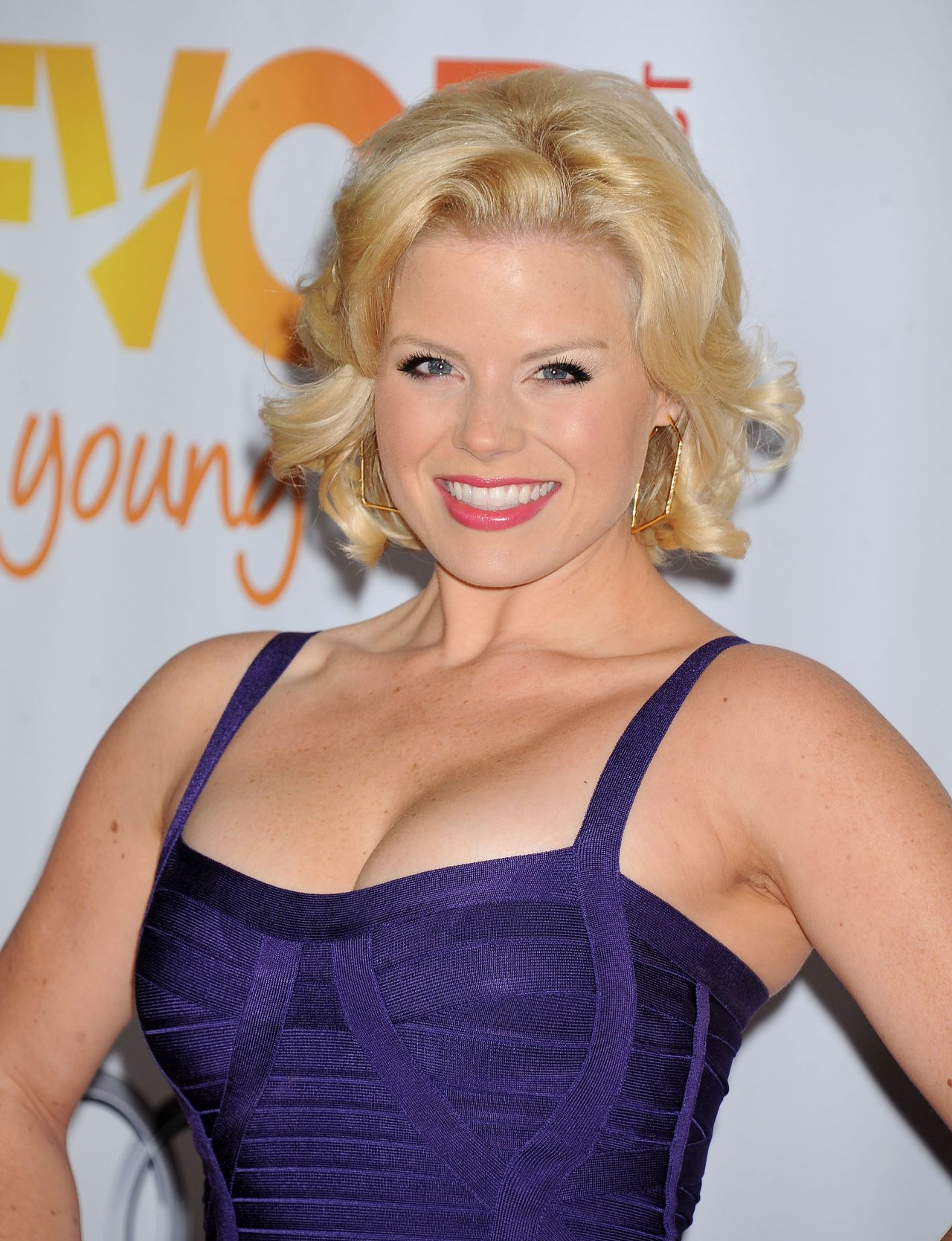 Megan Hilty Atends Trevor Project's 2013 TrevorLIVE Los Angeles Event