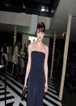 Michelle Ryan Wears Busty Blue Dress at Instyle Best Of British Talent Party Awards 2013