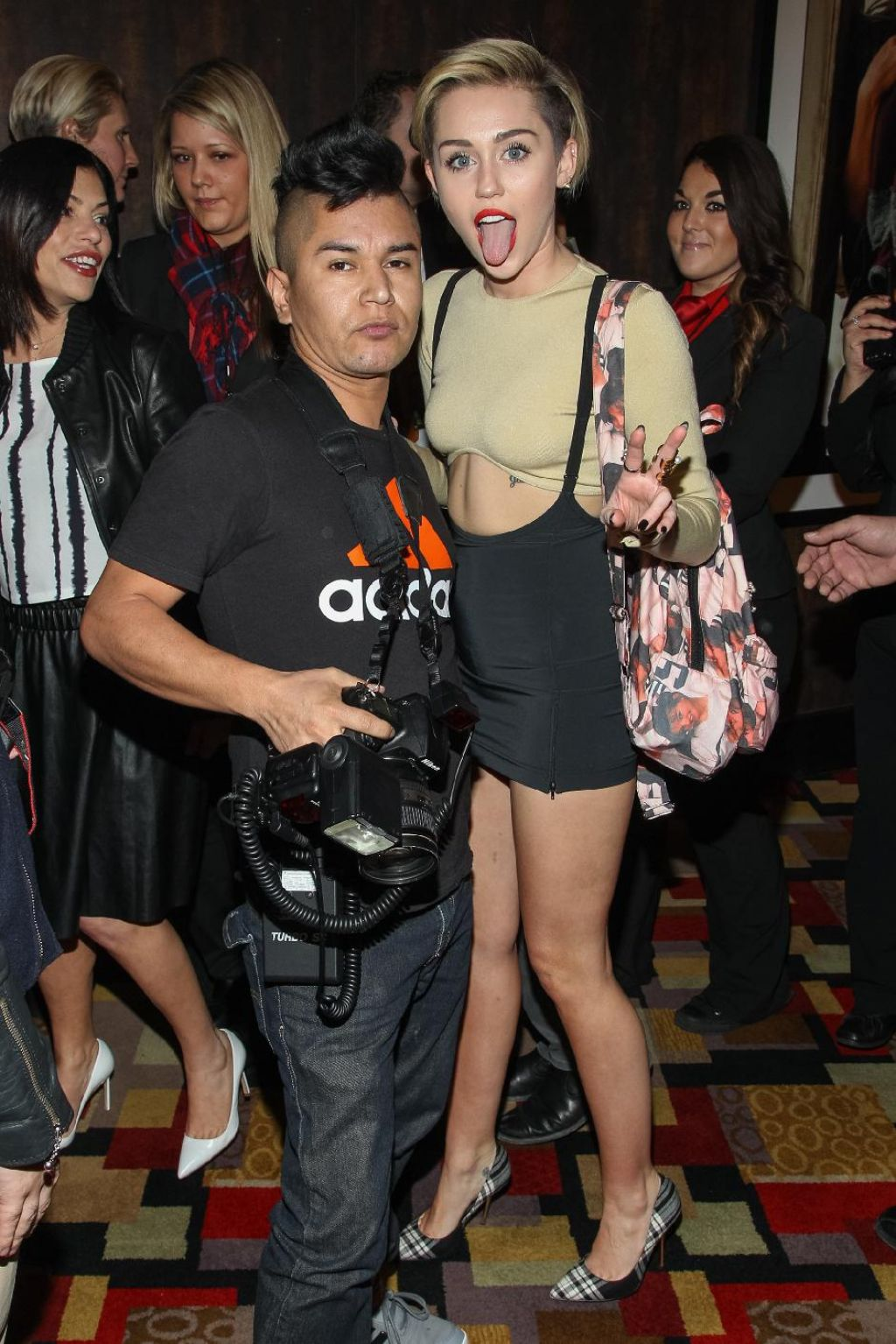Miley Cyrus – Britney Piece of Me Grand Opening in Vegas (Part II) – December 2013