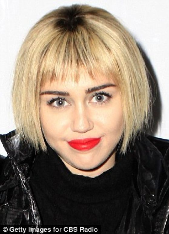 Miley Cyrus New Hairstyle 24th Annual Kroq Almost