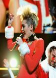 Miley Cyrus Performing at Jingle Ball 2013 in Atlanta - December 2013