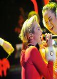 Miley Cyrus Performing at Jingle Ball 2013 in Atlanta - December 2013