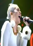 Miley Cyrus - Y100 Jingle Ball 2013 in Miami - December 2013