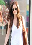 Minka Kelly Street Style - Beverly Hills, December 2013