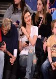 Miranda Kerr - Attending Knicks VS Raptors - Madison Square Garden, New York City