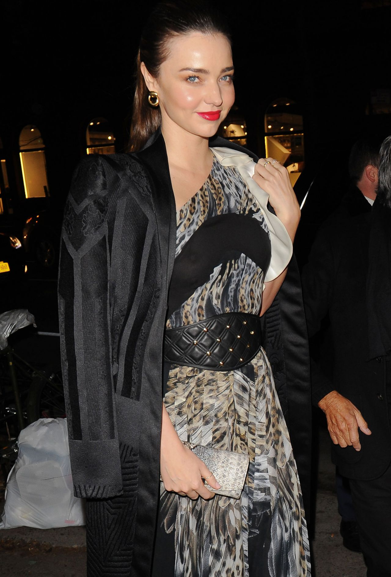 Miranda Kerr Attends Just Cavalli Soho Flagship Store Opening in New York City - December 2013