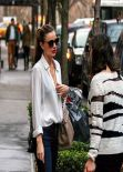 Miranda Kerr Street Style - Out in New York City - December 2013