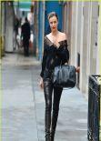 Miranda Kerr Street Style - Out in New York City - December 2013
