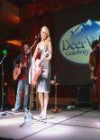 Miranda Lambert - Deer Valley Celebrity Skifest in Park City - December 2013
